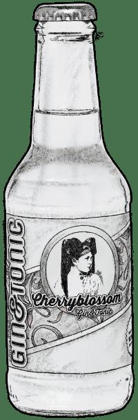 Cherryblossom Gin und Tonic Flasche crop 600