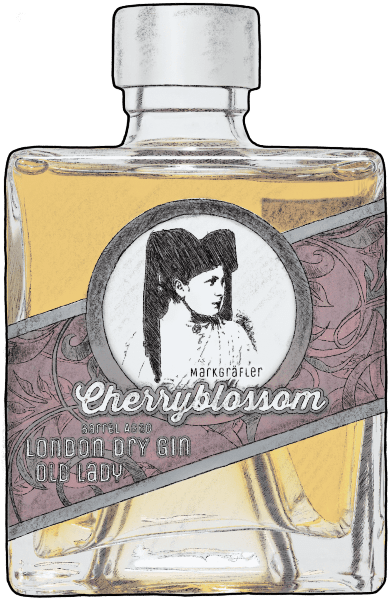 Cherryblossom London Dry Gin Old Lady crop 600