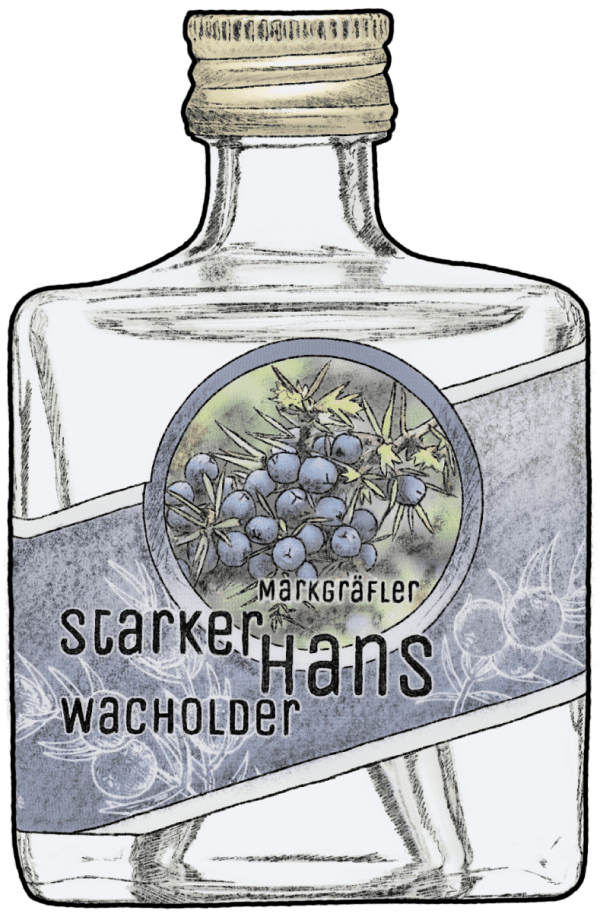 Cherryblossom Starker Hans Wacholder klein crop
